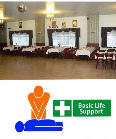 First Aid basic life support training Bury, greater manchester.